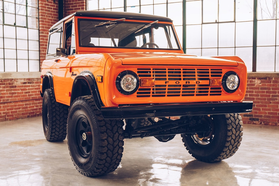 Redline's 1971 Ford Bronco for Sale is What Donald Frey Envisioned