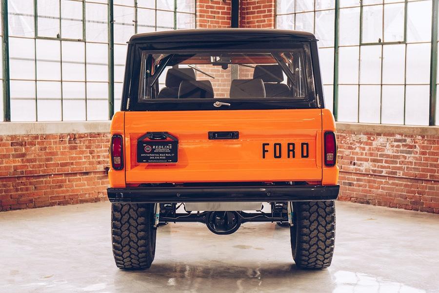 back ford bronco