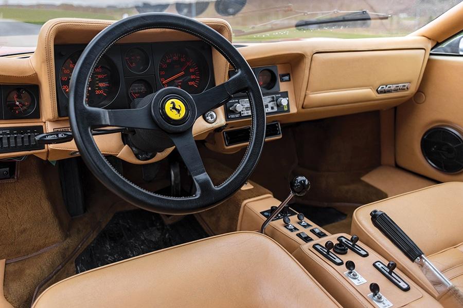 steering wheel ferrari