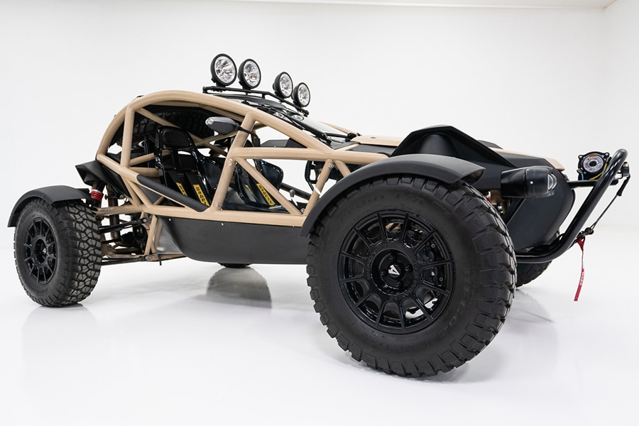 side view ariel nomad buggy