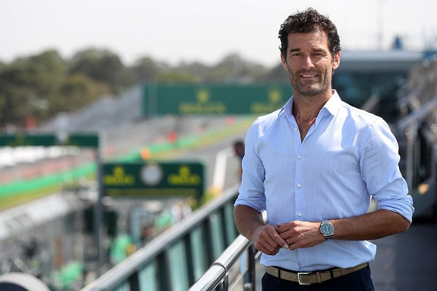 Mark Webber Rolex