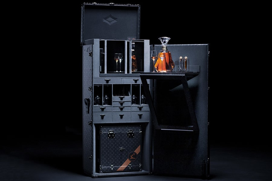 Hennessy X Louis Vuitton trunk