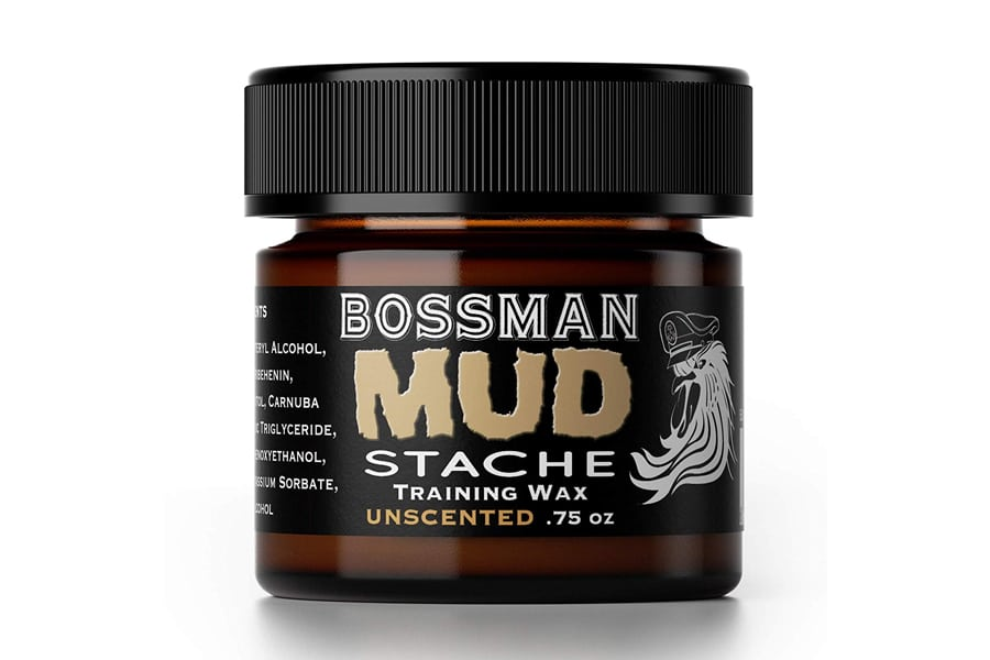 Bossman MUDstache Mustache Training Wax