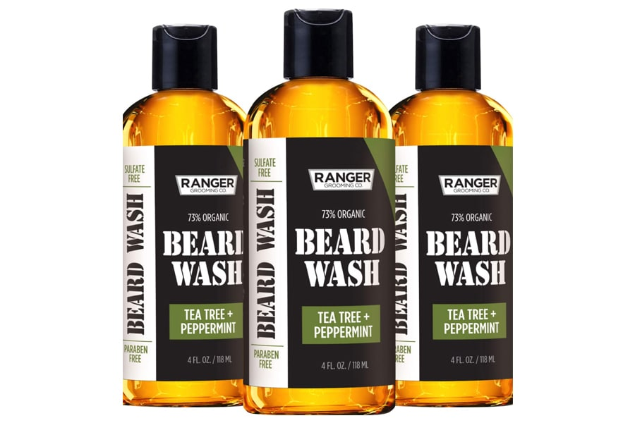 Leven Rose Beard Wash Shampoo by Ranger Grooming Co