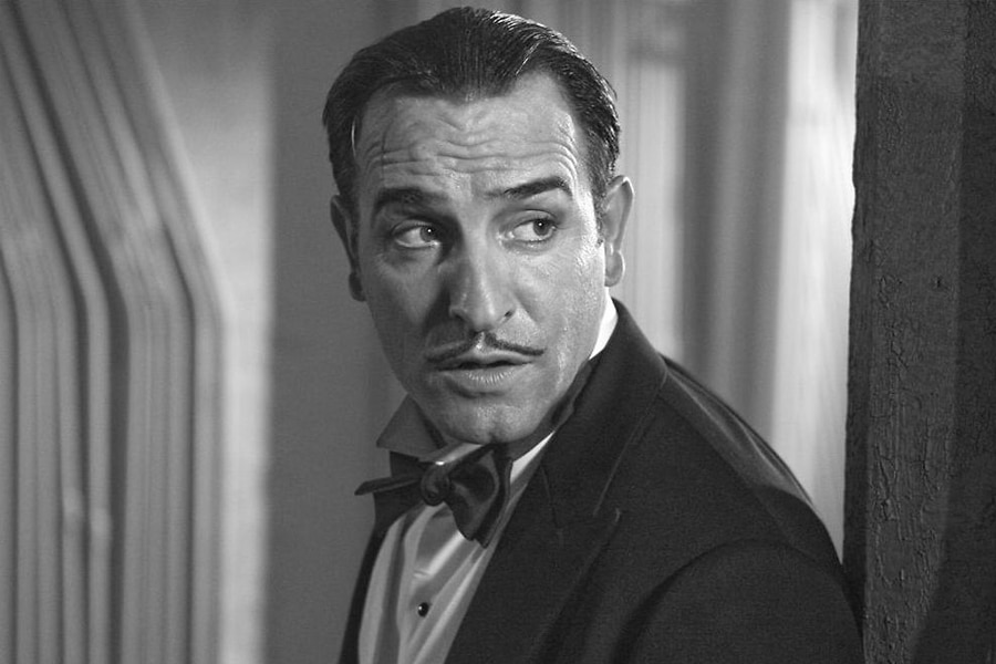 Pencil Moustache Jean Dujardin