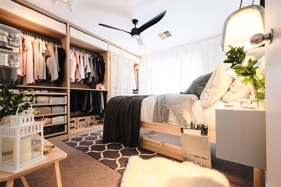 Ikea bedroom makeover