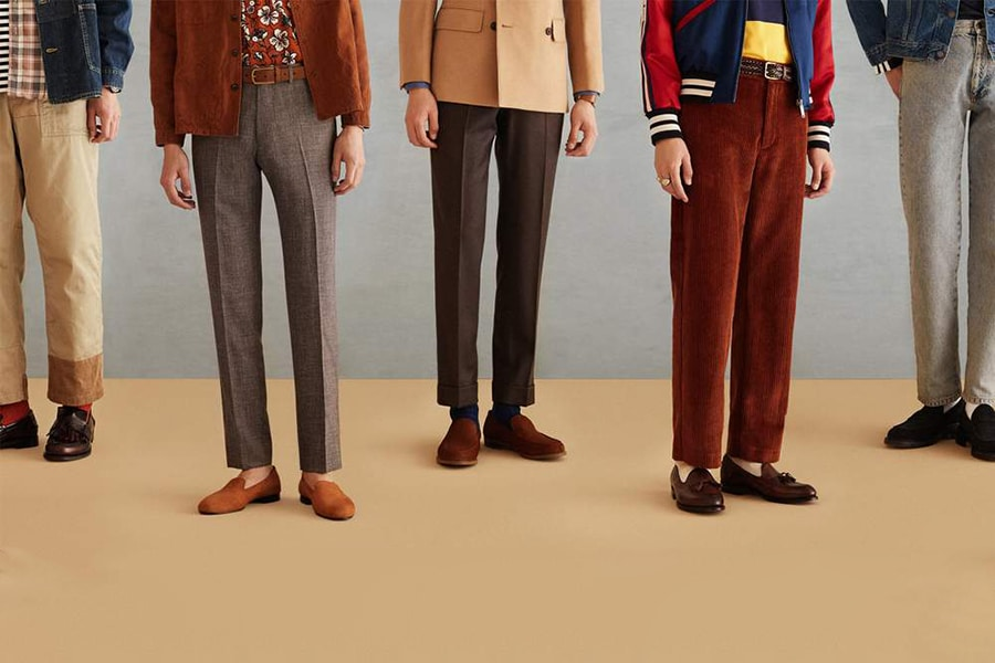 mr. porter british loafers collection