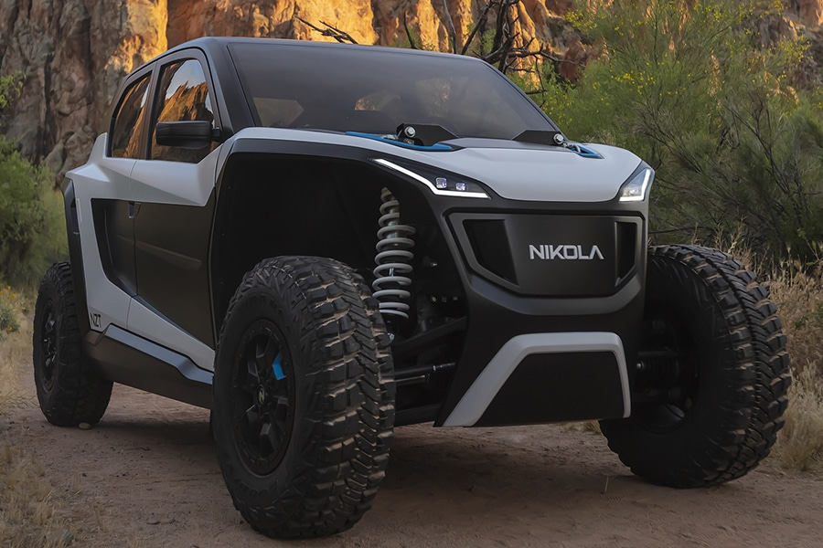 Go with Less Noise in the Nikola NZT Electric UTV