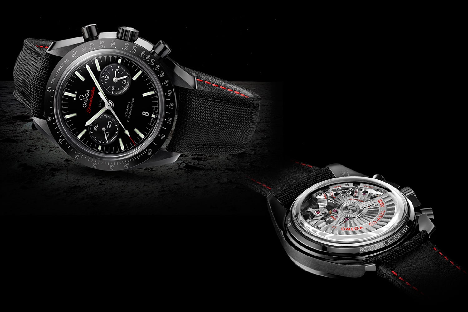 omega speedmaster dark side of the moon watch