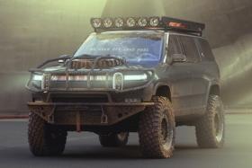 rivian off road vehicle