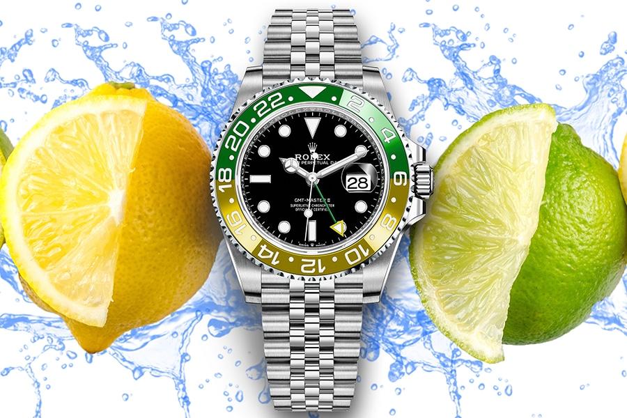 rolex sprite concept watch