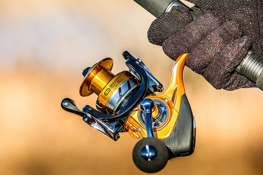 spinning reel with bluetooth