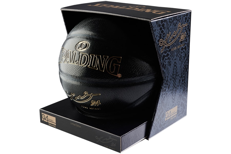 spalding ball in box