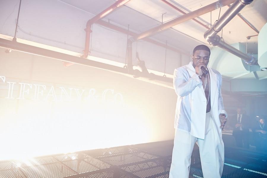 TIFFANY & CO. UNVEIL STORE A$AP FERG