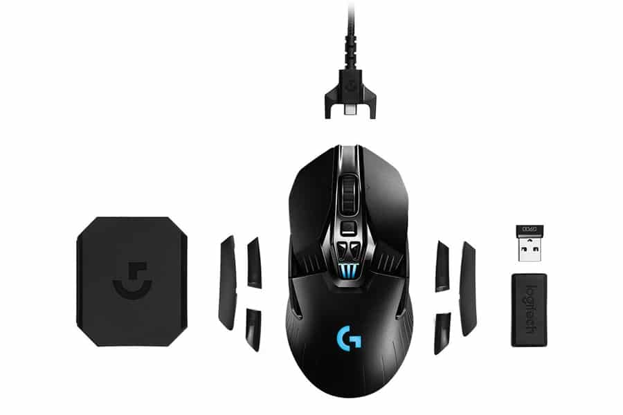 Logitech G900 Chaos Spectrum Professional Grade Wired,Wireless Gaming Mouse
