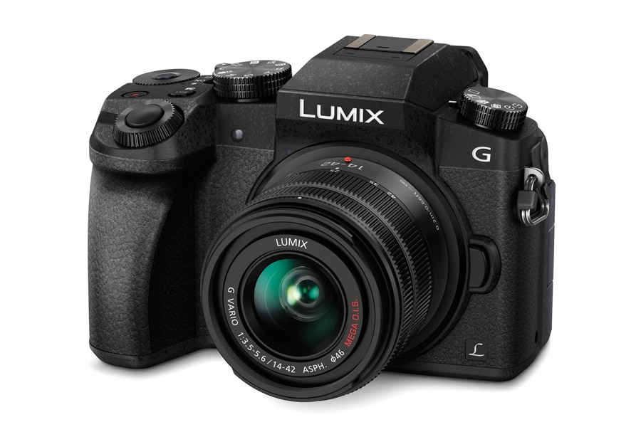 Panasonic Lumix G7 4K 16MP Digital Mirrorless Camera