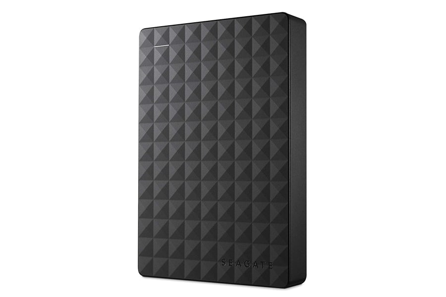 Seagate Expansion 4TB Portable External Hard Drive USB 3.0 & AmazonBasics External Hard Drive Case bundle
