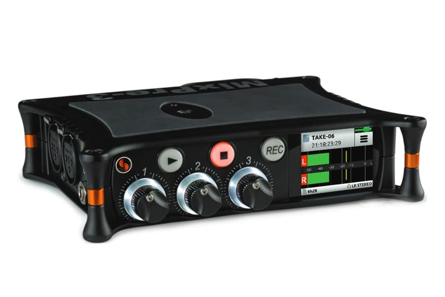 Sound Devices MixPre-3 Audio Recorder,Mixer and USB Audio Interface