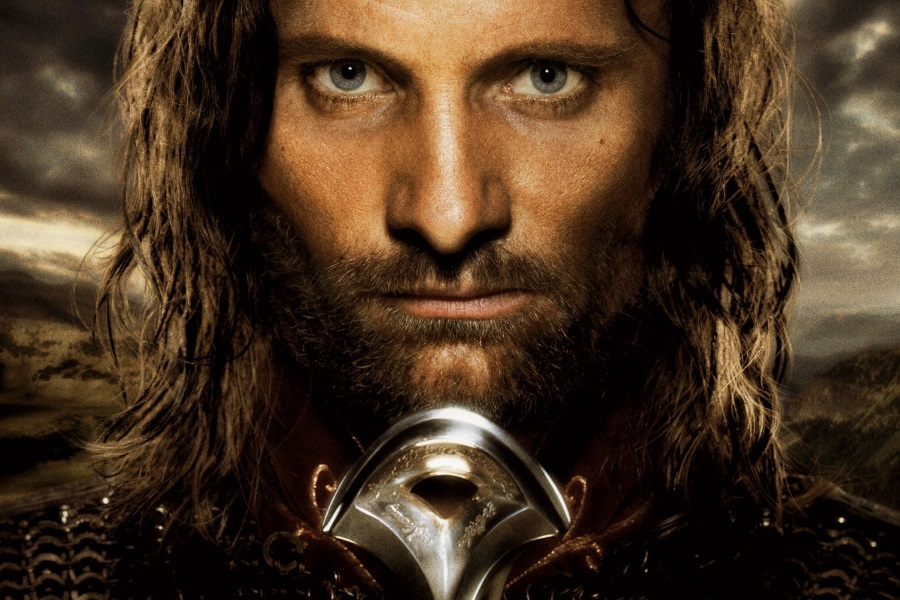 Viggo Mortensen in The Lord of the RIngs