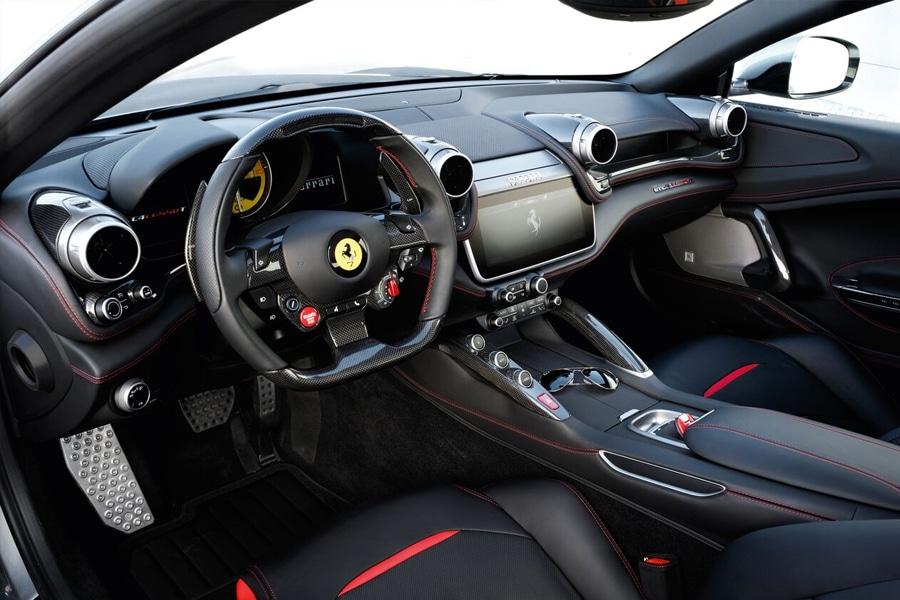 Ferrari GTC4 Lusso Front Interior