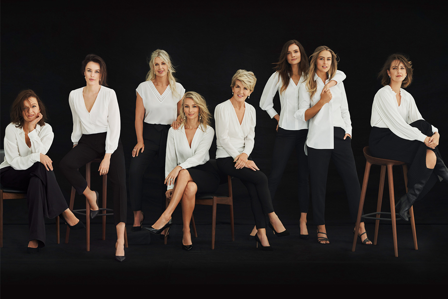 women in white tops from witchery