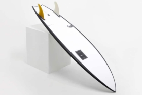 australian made twin fin surfboard
