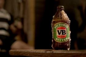 Victoria Bitter bottle