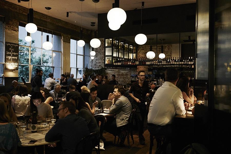 Cumulus Up Wine bar Dining
