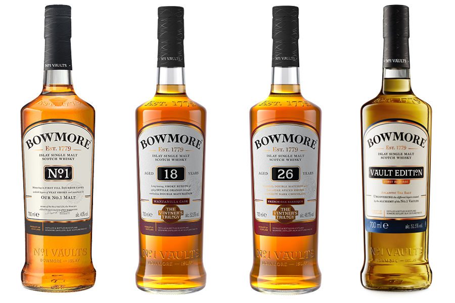 Bowmore peated whisky