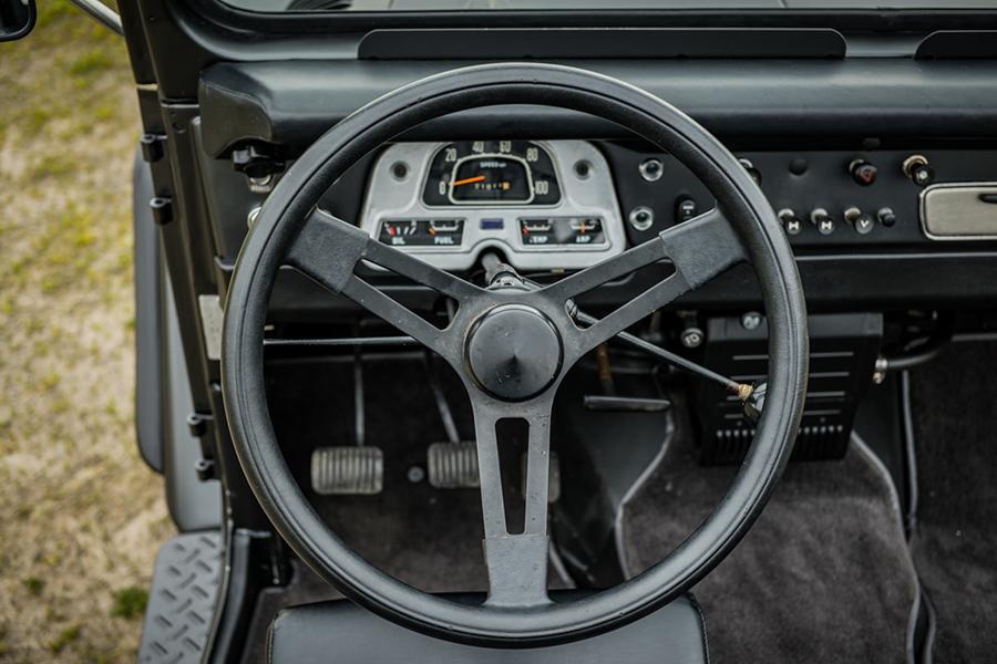 steering wheel toyota land cruiser