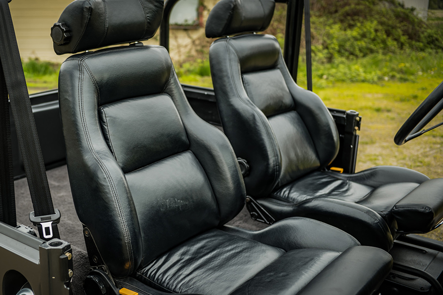 car seat upholstery for land cruiser