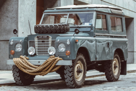 land rover series III side view