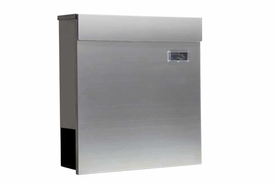 WB57 Wall Mounted Stainless Steel Letterbox