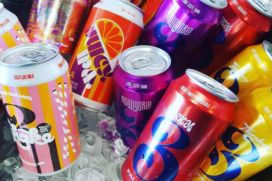 3 Ravens beer cans