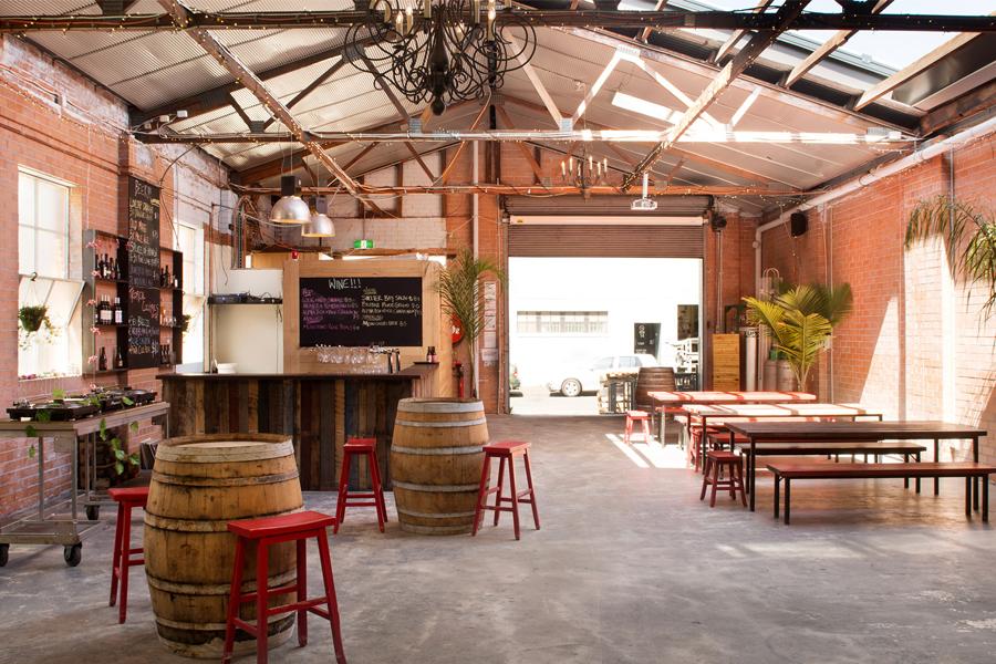 Moon Dog Craft brewery interior