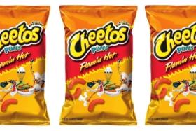 Flamin Hot Cheetos Packets