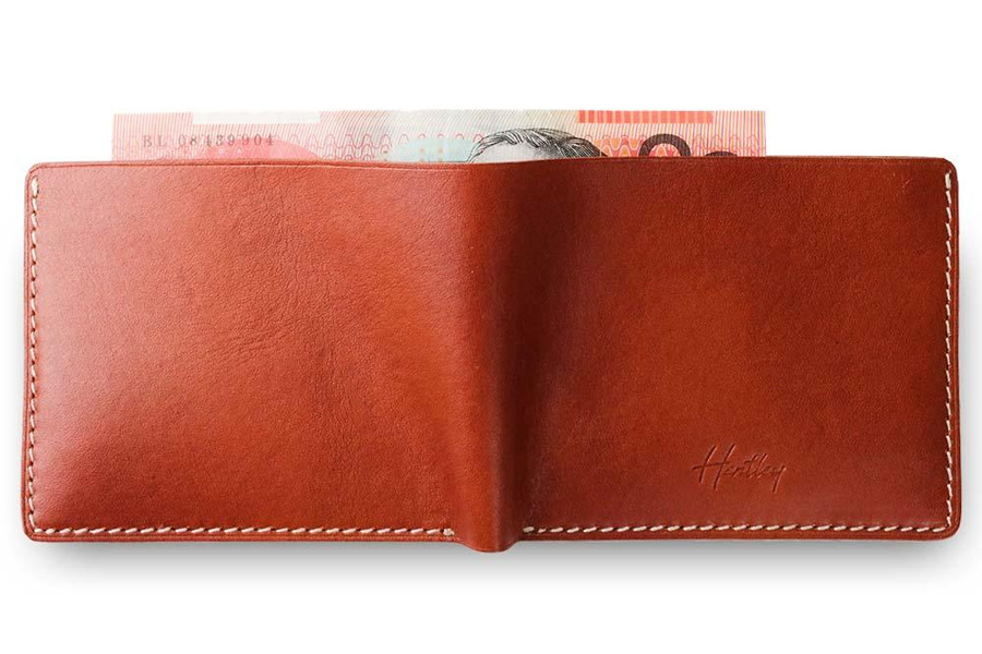 Hentley is the Ultimate Minimal Australian Leather Wallet
