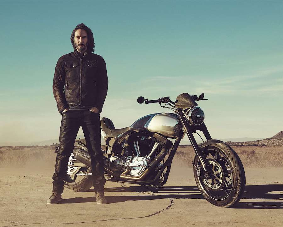 Keanu Reeves Bike