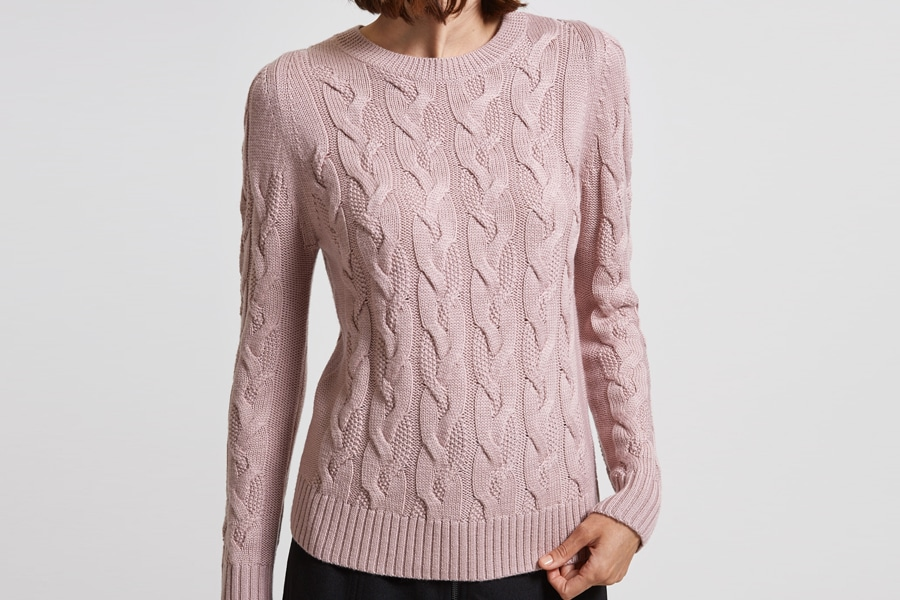 Mothers Day Gift Guide 2019 Saba Cable Knit Jumper