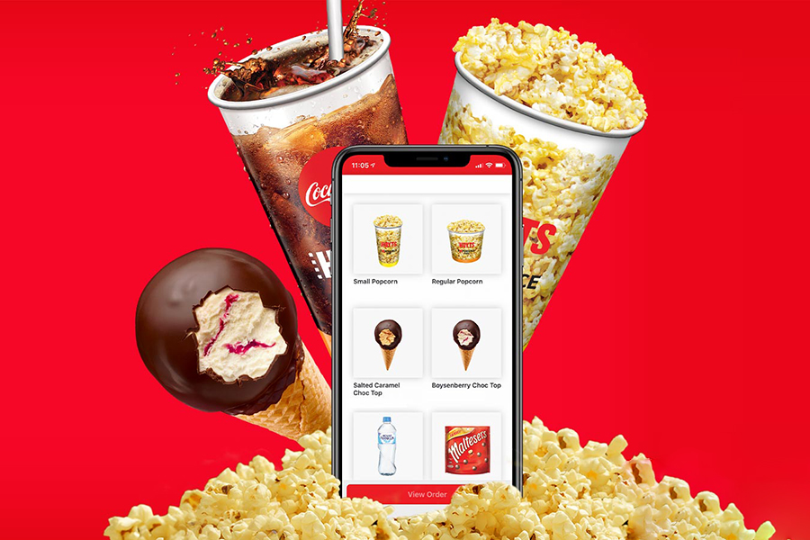 Order Movie Snacks to Your Seat with the Hoyts App