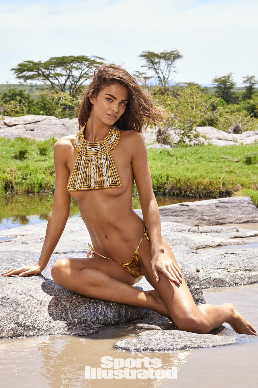 illustrated swimsuit robin sports holzken si issue edition kenya instagram celebrity yu tsai photographed ola vida through thefappening hawtcelebs pages