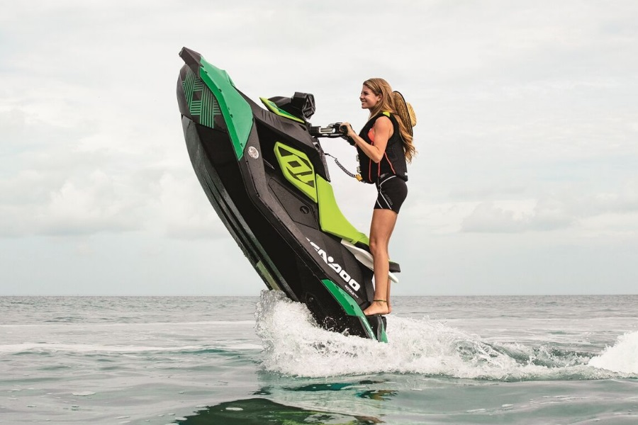 sea doo spark trixx watercraft