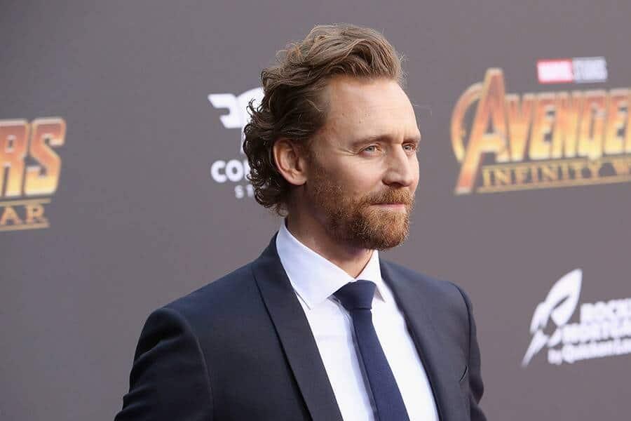 Tom Hiddleston Long hair and beard