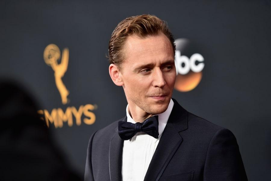 Tom Hiddleston short hair