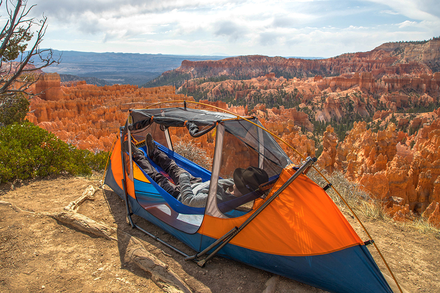 Tammock Is an Innovative Freestanding Hammock-Tent Hybrid