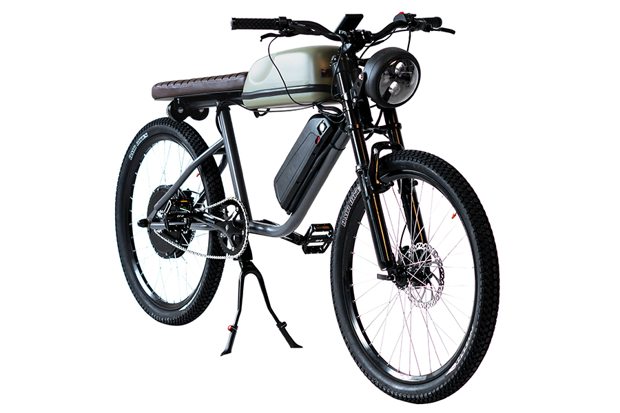 side view titan electric bike