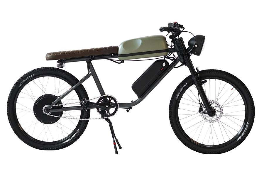 The Titan R 1000W Electric Bike Borrows the Café Racer Look