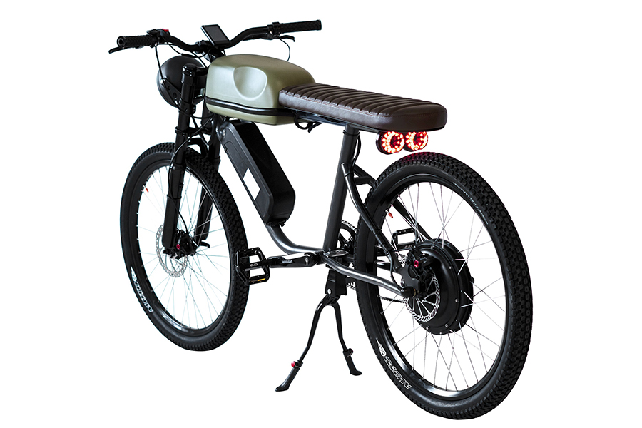 back view titan e-bike