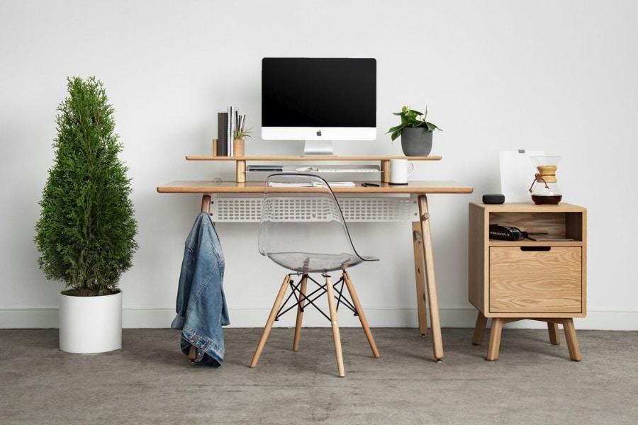 artifox lift desk setup