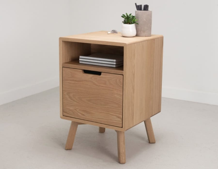 artifox side table with drawer